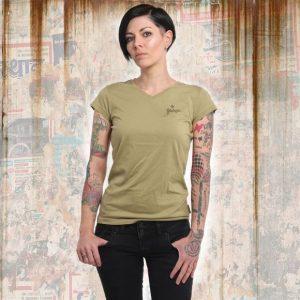 365a1c60cdea BASIC LINE V NECK dámske tričko GSB 14166 boa